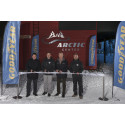 Goodyear opening Arctic Center, cut the ribbon 4/12 2014