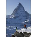 Mountain Adventure med skidor och snowboard