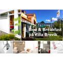 Bed & Breakfast på Villa Brevik
