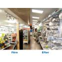 Butiker i Sundsvall och Timrå sparar med hjälp av energirådgivning
