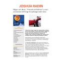 Joshua Radion släpper album och kommer till Sverige för spelningar i April.
