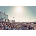 Olympiatravet 2014 - Mycket folk och solsken