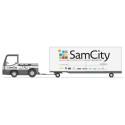 SamCity ska ge färre antal lastbilar i city