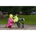 New Scandinavian Design Of Lappset's Wooden Playground Classic
