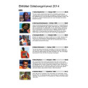 Elitfältet i GöteborgsVarvet 17 maj 2014 - presentationer