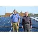 Tune Brugsforening har investeret et stort beløb i solenergi