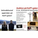 Selma & Gustaf uppträder och annan viktig information till dig som ska på HuFF-galan fredag 21 nov!