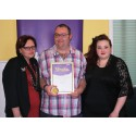 ​Young stroke survivor receives regional recognition