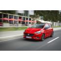 Opel Corsa med döda-vinkel-varnare