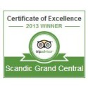 Scandic receives prestigious award from TripAdvisor