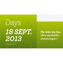 i-Days – fler idéer ska lösa våra samhällsutmaningar