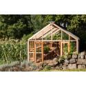 Växthus i cederträ från Gabriel Ash