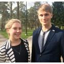 Caroline Sundberg och Johan Alvfors