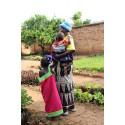 DR Kongo Faida med familj