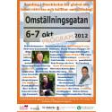 Omställningsgatan 6-7 oktober hela programmet