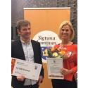 "Hotell Kristina får Sigtuna kommuns ""Sociala Utmärkelse 2015""!"
