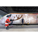 Traindeer let loose on the Virgin Trains network!