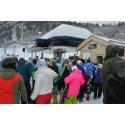 400 gondolbullar gick åt när FunäsGondolen invigdes