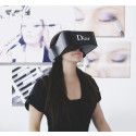 Dior skapar unikt virtual reality-headset med ljud och video i 360°