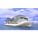 Det nye MSC Meraviglia - MSC Cruises største skib kan nu bookes