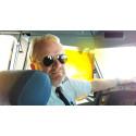 Per de la Motte, long haul air captain in major airline