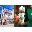Starbucks öppnar i Täby Centrum