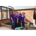 Reading employees add a touch of spring to Shinfield Infant & Nursery School