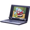 Tobii Dynavox Explore, a peripheral eye tracker mounted on a laptop computer