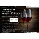 ScandBizBar Networking Night, Thursday 11 September 18.30 at Amara Element