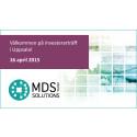 Presentation av MDS i Uppsala