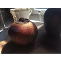 Raku-bränd keramik av Dan Leonette