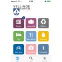 Allting nära till hands i Vellinge med en ny app