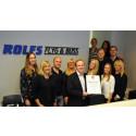 Rolfs Flyg & Buss blir Gasellföretag för andra året i rad