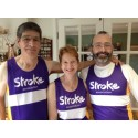 ​Six Striding for Stroke take on half marathon for the Stroke Association