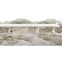 Vi skapar ett modernt lantställe helt i naturligt trä tillsammans med Arrhov Frick Arkitektkontor.