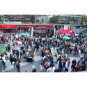 Över 6 000 samlades på Sergels torg i manifestation för gemenskap