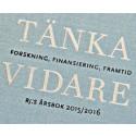 Riksbankens Jubileumsfonds årsbok TÄNKA VIDARE
