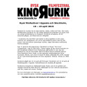 KinoRurik XVI - rysk filmfestival i Uppsala och Stockholm