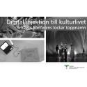 Digital injektion till kulturlivet - VGR:s konferens lockar toppnamn