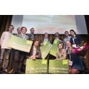 Vinnarna i Venture Cup Öst hösten 2014
