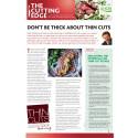AHDB Beef & Lamb's Cutting Edge Report - Thin Cut Steaks