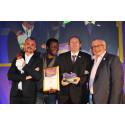 Stroke Association volunteer triumphs over tragedy to scoop  major national award