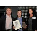 Skellefteå kommun tilldelas hållbarhetspris under Wood Building Summit