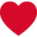 Förskolebarn smyckar ut med hjärtan på Alla hjärtans dag
