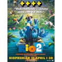 RIO 2 dansade samba rakt in på biotoppens förstaplats!