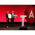 Billund BioRefinery hædret  med Svend Auken-prisen