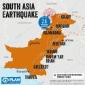 """Plan International efter jordbävningen i södra Asien: """"Vi står redo"""""""