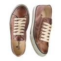 """Röd eller brun skinnsneaker, """"vintage look"""""""