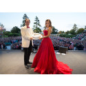 Stars dazzle Stoke Park as superstars Sir Elton John and Katherine Jenkins OBE take to the stage to celebrate a Great British Weekend!