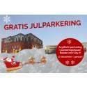 Gratis julparkering 17 december - 3 januari